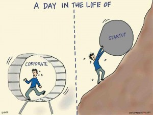 corporate vs startup